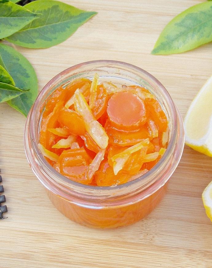 Konfitura z marchwi i cytryn