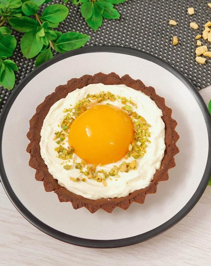 """Wielkanocne tartaletki """"Słodkie jajko"""""""